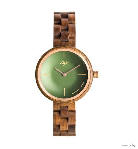 """Часы наручные """"Дрэва"""" (зеленые; арт. 440180558) — фото, картинка"""