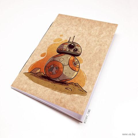 """Блокнот крафт """"Звездные войны"""" А6 (899)"""