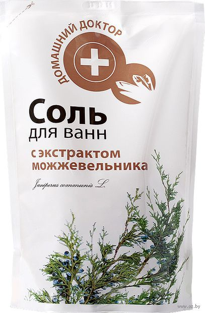 Соль для ванн с экстрактом можжевельника (500 г)