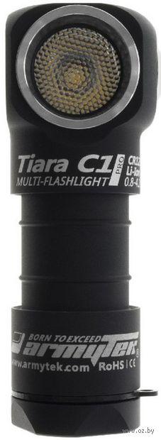 Фонарь Armytek Tiara C1 v2 XP-L (тёплый свет) — фото, картинка