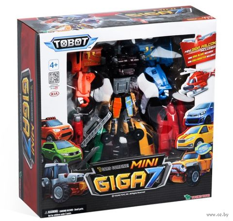 "Робот-трансформер ""Мини Тобот Гига 7"" — фото, картинка"