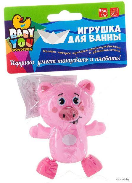 """Заводная игрушка для купания """"Поросёнок"""" — фото, картинка"""