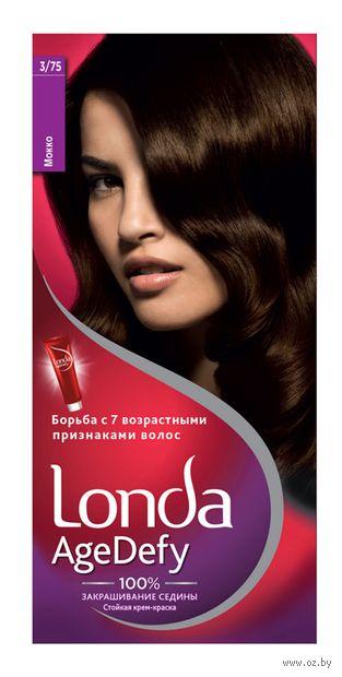 """Крем-краска для волос """"Londa AgeDefy"""" тон: 3/75, мокко — фото, картинка"""