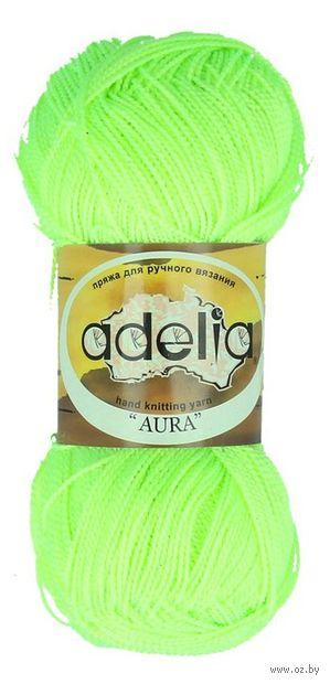 "Пряжа ""Adelia. Aura №112"" (50 г; 250 м; жёлтый неон) — фото, картинка"