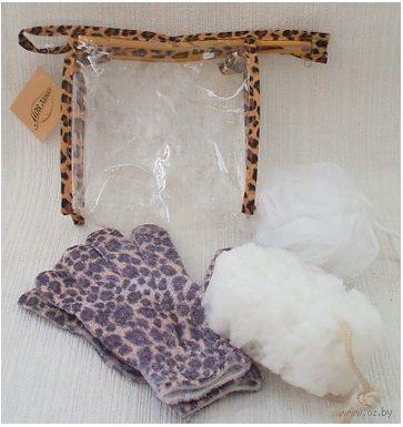 Набор для ванной пластмассовый в чехле (3 предмета, арт. BA40002)