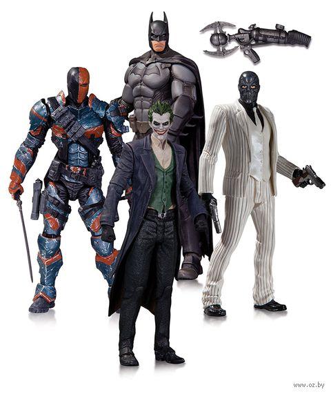 """Набор фигурок """"Бэтмен. Летопись Аркхэма"""". 4 в 1 (17 см) — фото, картинка"""