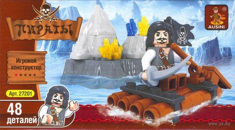 """Конструктор """"Пираты. Пират на плоту"""" (48 деталей)"""