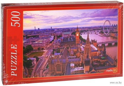 "Пазл ""Англия. Лондон"" (500 элементов) — фото, картинка"