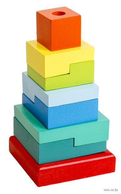 """Пирамидка """"Ступеньки"""" (8 элементов) — фото, картинка"""