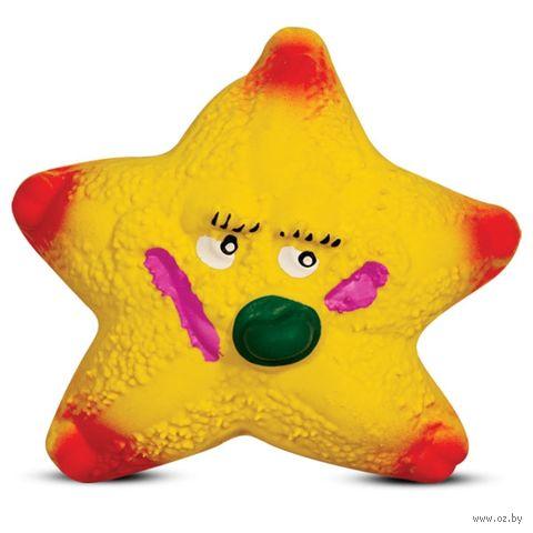 """Игрушка для собак с пищалкой """"Морская звезда"""" (9,5 см) — фото, картинка"""