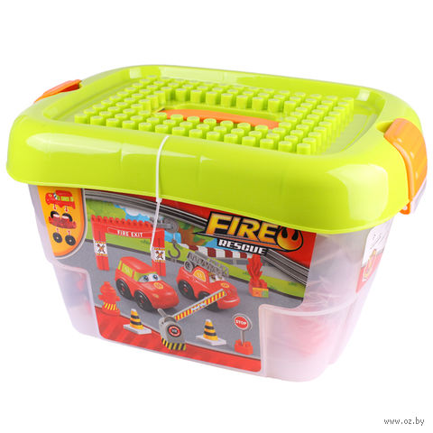 "Конструктор ""Fire Rescue"" (72 детали; арт. DV-T-868) — фото, картинка"
