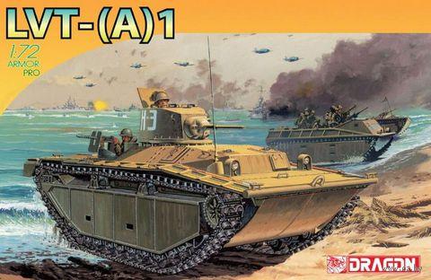 "Гусеничная десантная машина ""LVT-A1"" (масштаб:1/72) — фото, картинка"