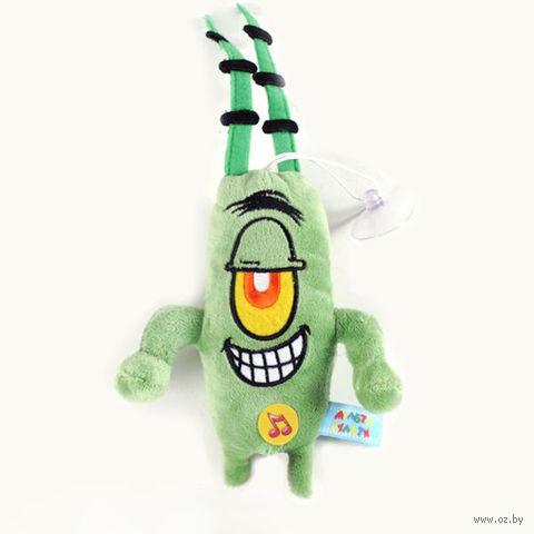 """Мягкая музыкальная игрушка """"Планктон"""" (19 см)"""