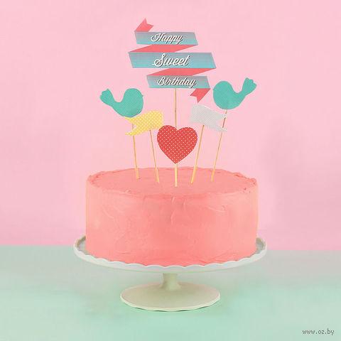 """Набор украшений для торта """"Sweet cake"""""""