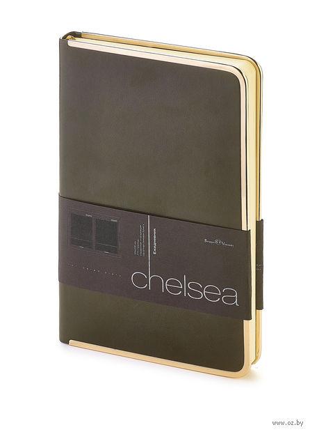 """Ежедневник недатированный """"Chelsea"""" (A5; серый) — фото, картинка"""