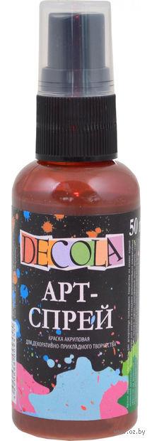 """Краска-спрей """"Decola"""" (коричневая светлая; 50 мл) — фото, картинка"""