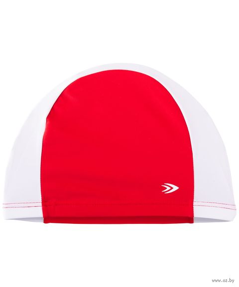 Шапочка для плавания (красно-белая) — фото, картинка