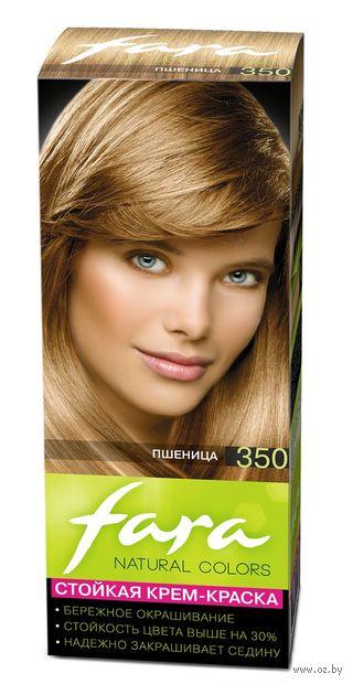 "Крем-краска для волос ""Fara. Natural Colors"" тон: 350, пшеница — фото, картинка"