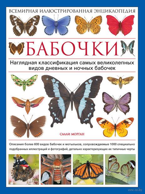 Бабочки. Всемирная иллюстрированная энциклопедия. Салли Морган