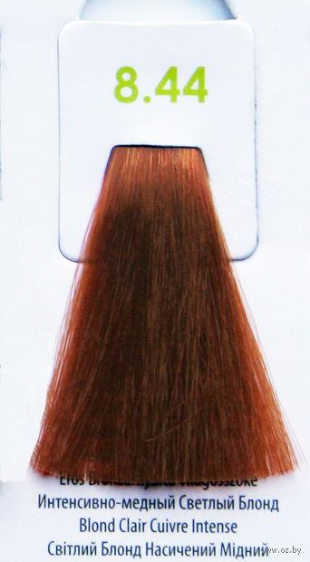 """Крем-краска для волос без аммиака """"Nouvelle"""" (тон: 8.44, медный светлый блонд) — фото, картинка"""