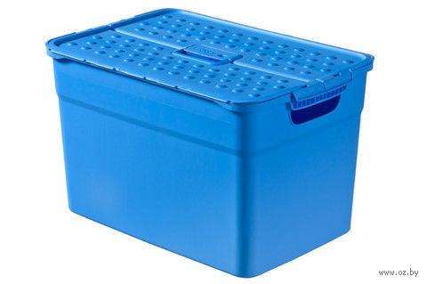 """Ящик для хранения """"Pixxel"""" (12 л; голубой)"""