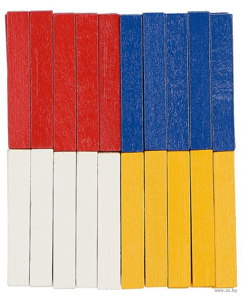 "Счетный материал ""Палочки"" (40 шт.; арт. Д-440) — фото, картинка"