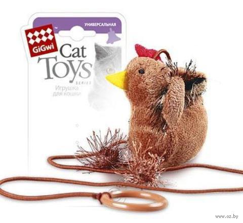 "Дразнилка для кошек на палец ""Петушок"" (100х10 см)"