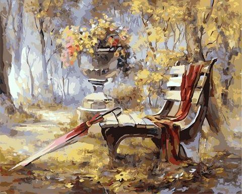 "Картина по номерам ""Осень в парке"" (500х650 мм) — фото, картинка"