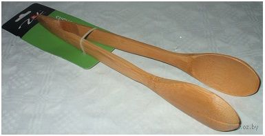 Щипцы для салата бамбуковые (300 мм)