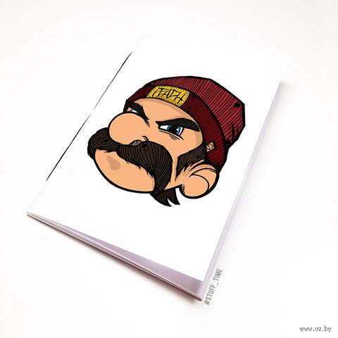 """Блокнот белый """"Марио"""" А6 (282)"""