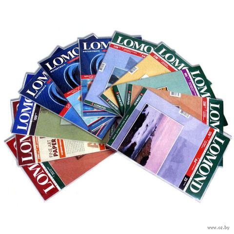 Фотобумага глянцевая односторонняя Lomond (25 листов; 140 г/м2; А4)