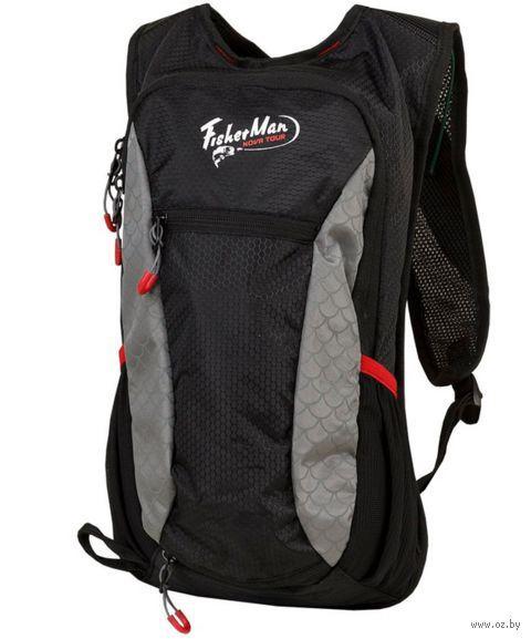 "Рюкзак для рыбалки ""Миноу Pro"" (16 л; чёрно-серый) — фото, картинка"