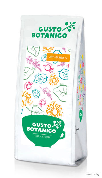 """Фиточай """"Gusto Botanico. Aroma Herbs"""" (100 г) — фото, картинка"""