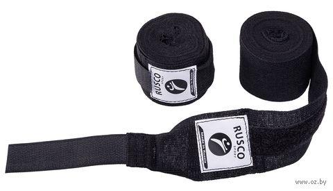 Бинт боксёрский (3,5 м; чёрный) — фото, картинка