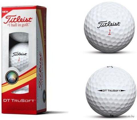 """Мяч для гольфа """"DT TruSoft"""" (3 шт.) — фото, картинка"""