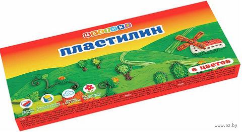 "Пластилин ""Цветик"" (6 цветов)"