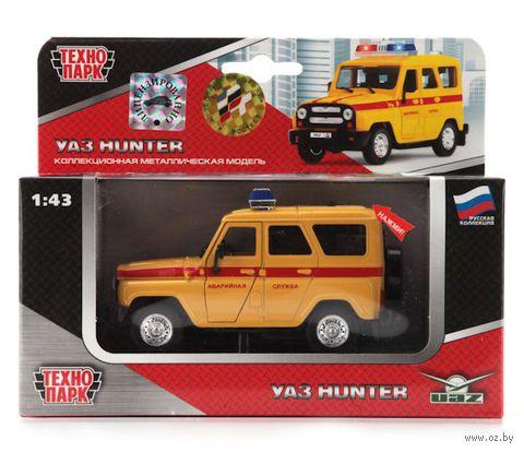 "Модель машины ""Уаз Hunter. Аварийная служба"" (масштаб: 1/43)"