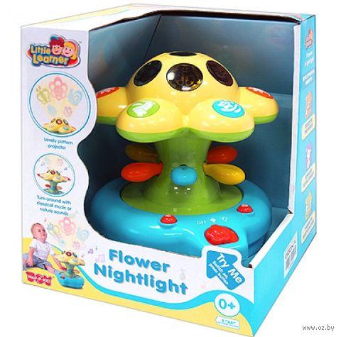 """Музыкальная игрушка """"Цветок-ночник"""" (со световыми эффектами)"""