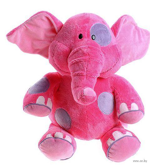 """Мягкая игрушка """"Слоник розовый"""" (36 см)"""