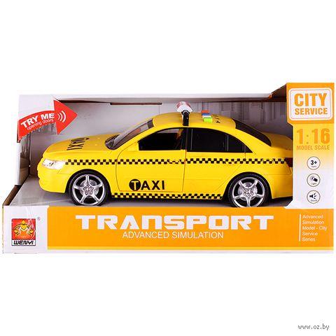 """Машинка инерционная """"Такси"""" — фото, картинка"""