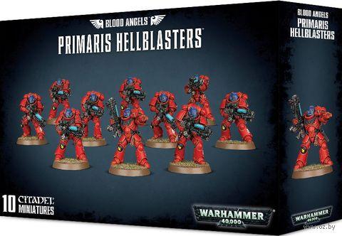 Warhammer 40.000. Blood Angels. Primaris Hellblasters (41-28) — фото, картинка