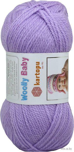 """Пряжа """"KARTOPU. Woolly Baby №K697"""" (50 г; 148 м; лаванда) — фото, картинка"""