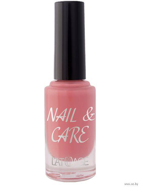 "Лак для ногтей ""Nail and Care"" тон: 607 — фото, картинка"
