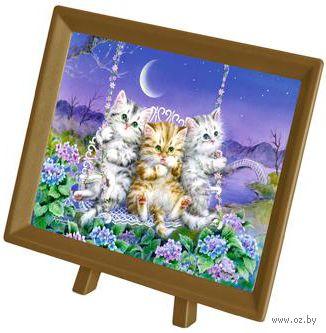 """Пазл """"Кайоми. Котята на качелях"""" (150 элементов) — фото, картинка"""