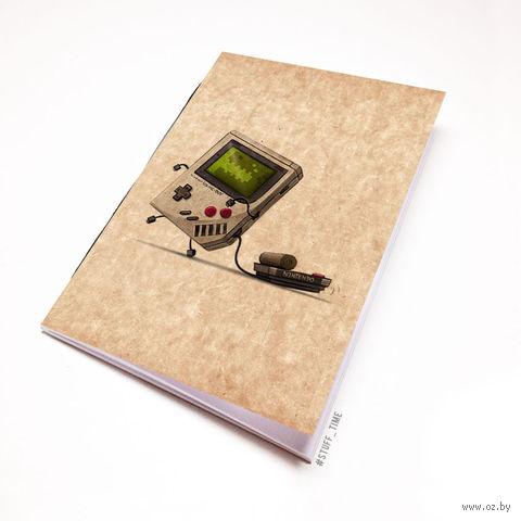 """Блокнот крафт """"Nintendo"""" (А7; арт. 962)"""