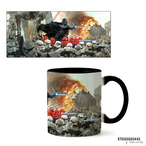 """Кружка """"Звездные войны"""" (черная; арт. 0448) — фото, картинка"""