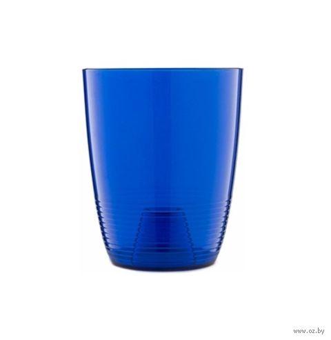 """Кашпо для орхидей """"Mia"""" (12,2 см; синий полупрозрачный) — фото, картинка"""