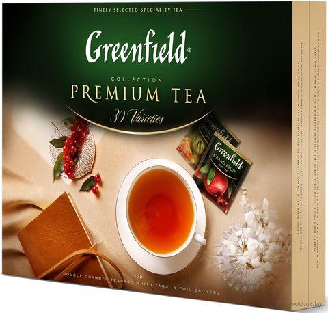 "Чай ""Greenfield. Коллекция"" (120 пакетиков; ассорти) — фото, картинка"