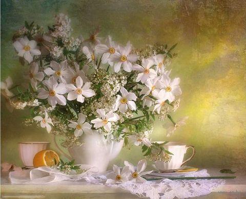 """Вышивка бисером """"Полевые цветы"""" (230х280 мм) — фото, картинка"""