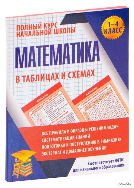 Математика в таблицах и схемах. 1-4 класс — фото, картинка